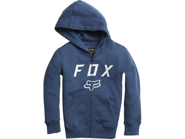 Fox Legacy Moth Zip Fleece Jacket Kids dusty blue